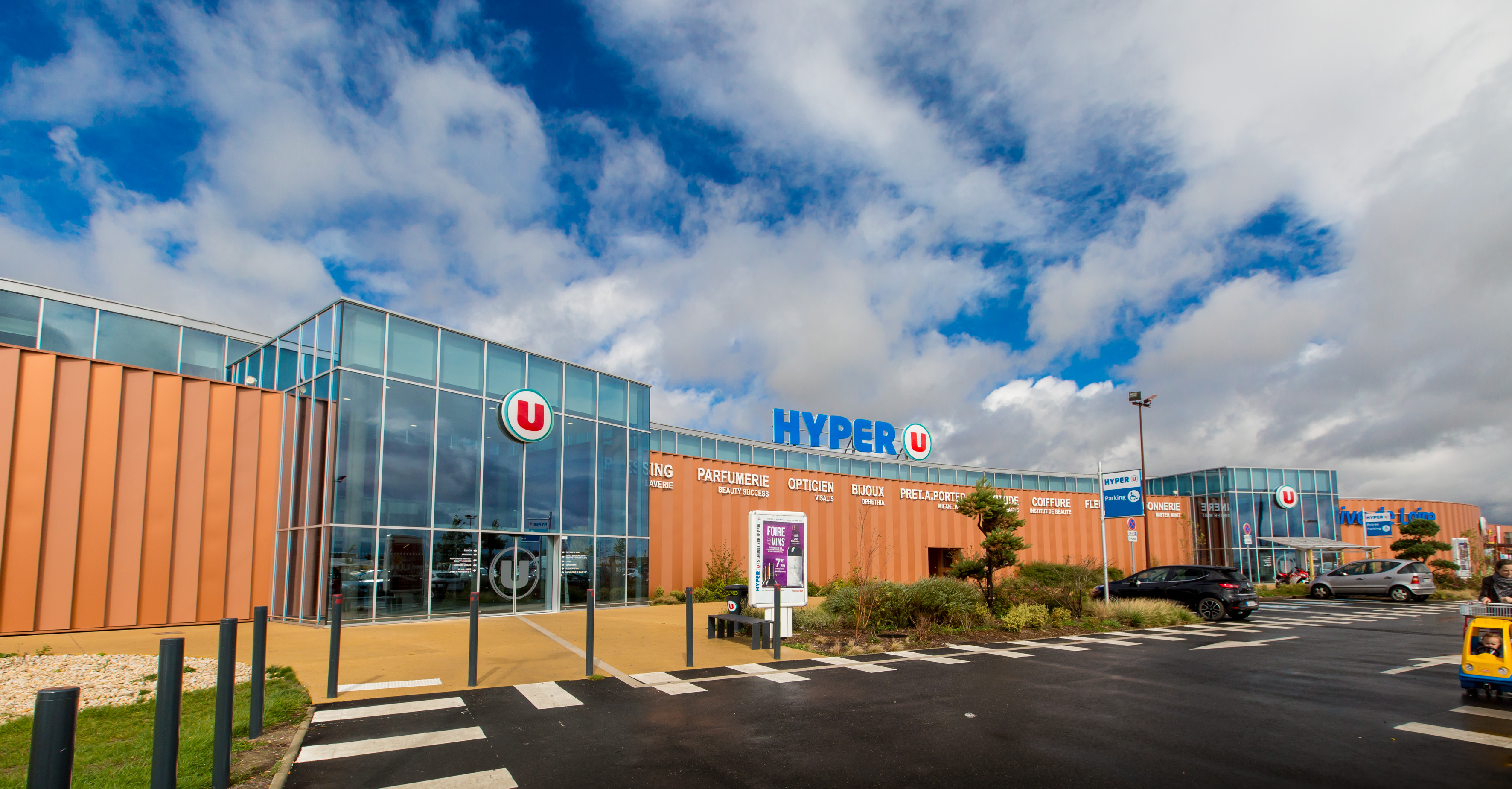 Enseigne Hyper U Cooperative U U Log