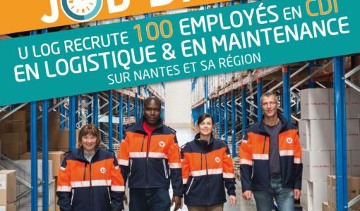 Visuel U Log recrute 100 employés en CDI logistique et maintenance