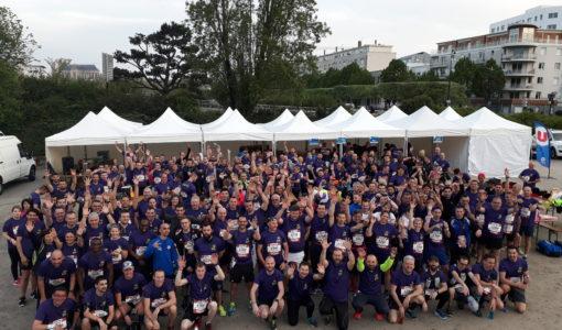 U Logistique présent au Marathon de Nantes