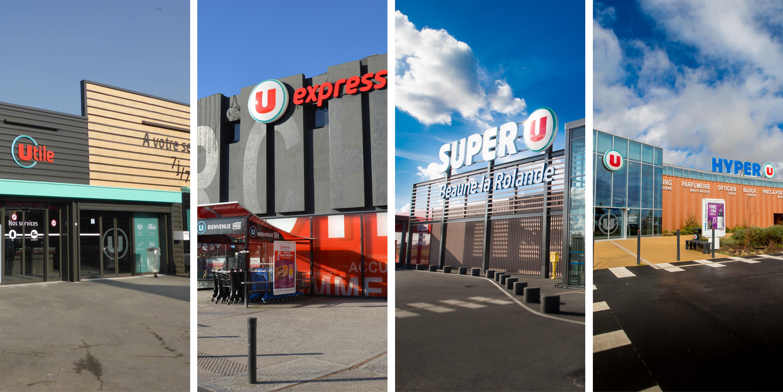 enseigne hypermarché supermarché super u hyper u u express utile